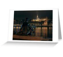 Poet on the Danube Greeting Card