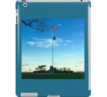 Sag Harbor NY US POW-MIA Flag Patriotism - Hamptons iPad Case/Skin