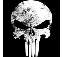 The Punisher Minimalist Photographic Print