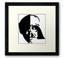 Luke Vader Framed Print