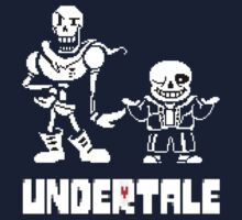 Undertale-Papyrus and Sans One Piece - Long Sleeve