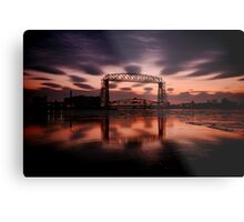 Duluth Morning Reflections  Metal Print
