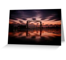 Duluth Morning Reflections  Greeting Card