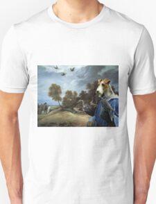 Wire Fox Terrier Art - Falconers T-Shirt