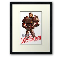Fallout 4: To Infinity – Ad Victoriam Framed Print