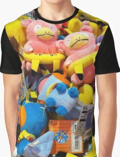 Pokemon plushies  Graphic T-Shirt
