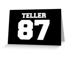 Miles Teller  Greeting Card