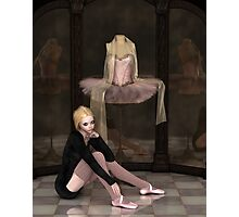 Student Ballerina Day Dreaming Photographic Print