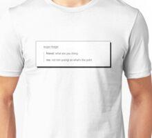 BTS Suga/Yoongi textpost (#3) Unisex T-Shirt