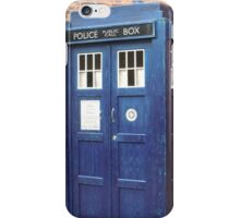 TARDIS - police box iPhone Case/Skin