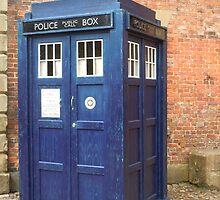 TARDIS - police box by Watkins-photos