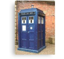 TARDIS - police box Canvas Print