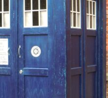 TARDIS - police box Sticker