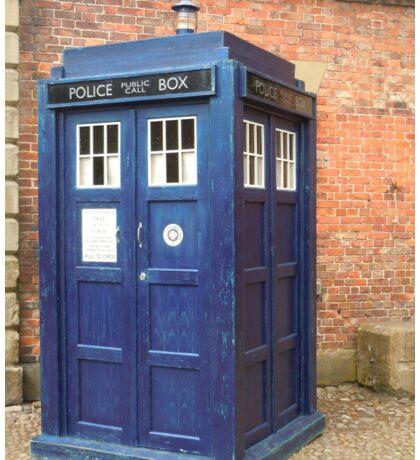 TARDIS - police box Sticker