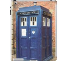 TARDIS - police box iPad Case/Skin