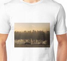 Dawn Mist at Forest Mere Unisex T-Shirt