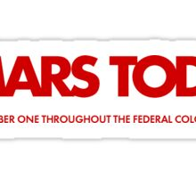 Mars Today - Total Recall (Red) Sticker