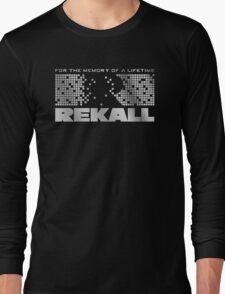 Rekall - Total Recall Long Sleeve T-Shirt