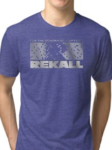 Rekall - Total Recall Tri-blend T-Shirt