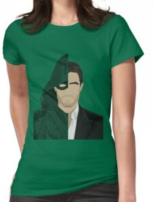 Green Arrow/Oliver Queen Womens Fitted T-Shirt