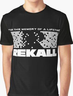 Rekall - Total Recall (White) Graphic T-Shirt