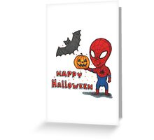 Spider-Halloween Greeting Card