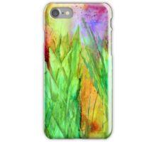 Green Path Peekaboo iPhone Case/Skin
