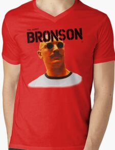Bronson - Tom Hardy - T Shirt  Mens V-Neck T-Shirt