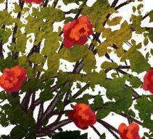 Wild Rosebush Sticker