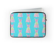 Lilly Pulitzer Inspired Dress Let's Cha Cha Laptop Sleeve
