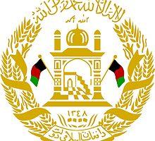 Emblem of Afghanistan, 2002-2004  by abbeyz71
