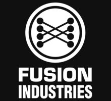 Fusion Industries - Back to the Future (White) Kids Tee