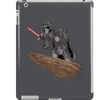 Star wars Mashup (grey) iPad Case/Skin