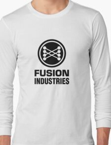 Fusion Industries - Back to the Future (Black) Long Sleeve T-Shirt
