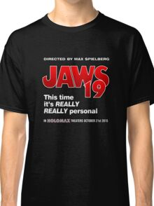 Jaws 19 - This time it's really really personal (Back to the Future) Classic T-Shirt