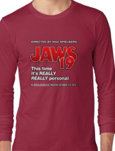 Jaws 19 - This time it's really really personal (Back to the Future) Long Sleeve T-Shirt