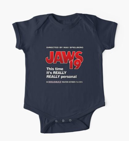 Jaws 19 - This time it's really really personal (Back to the Future) One Piece - Short Sleeve
