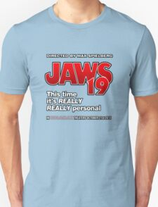 Jaws 19 - This time it's really really personal (Back to the Future) T-Shirt
