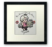 Chibi Elizabeth Framed Print