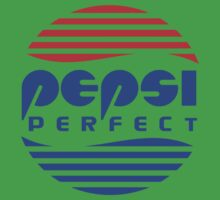 Pepsi Perfect - Back to the Future (Flat Colors) One Piece - Short Sleeve
