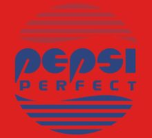 Pepsi Perfect - Back to the Future (Flat Colors) One Piece - Long Sleeve