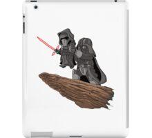 Star wars Mashup (white) iPad Case/Skin