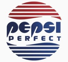 Pepsi Perfect - Back to the Future (Gradient Colors) Baby Tee