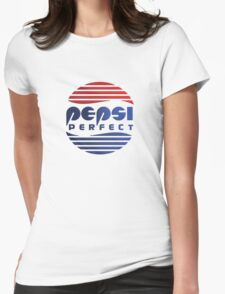 Pepsi Perfect - Back to the Future (Gradient Colors) Womens Fitted T-Shirt