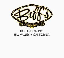 Biff's Hotel and Casino - Back to the Future (Black and Yellow) Unisex T-Shirt