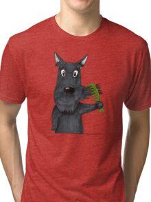 Mustache Tri-blend T-Shirt