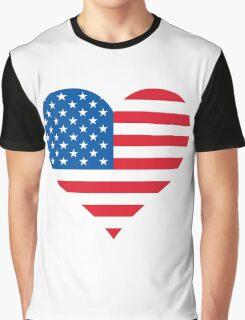 God Bless America Graphic T-Shirt