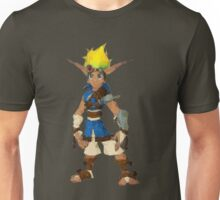 Jak Low poly White lines version  Unisex T-Shirt