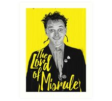 Rik Mayall - Lord Of Misrule Art Print