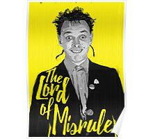 Rik Mayall - Lord Of Misrule Poster